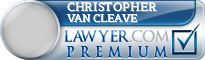 Christopher Collins Van Cleave  Lawyer Badge
