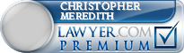 Christopher H Meredith  Lawyer Badge
