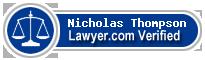 Nicholas Kane Thompson  Lawyer Badge