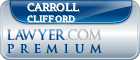 Carroll Louis Clifford  Lawyer Badge