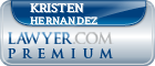 Kristen Anne Hernandez  Lawyer Badge