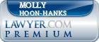 Molly Rebekah Hoon-Hanks  Lawyer Badge