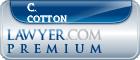 C. John Cotton  Lawyer Badge
