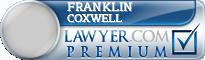 Franklin Harrison Coxwell  Lawyer Badge