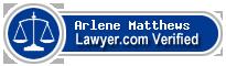 Arlene Caraway Matthews  Lawyer Badge