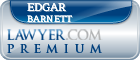 Edgar Barnett  Lawyer Badge
