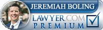 Jeremiah Spencer Boling  Lawyer Badge