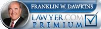 Franklin W Dawkins  Lawyer Badge