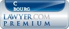 C E Bourg  Lawyer Badge