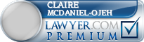 Claire McDaniel-Ojeh  Lawyer Badge