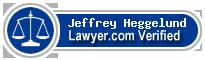 Jeffrey Michael Heggelund  Lawyer Badge