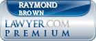 Raymond Anthony Brown  Lawyer Badge