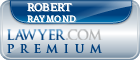 Robert L Raymond  Lawyer Badge