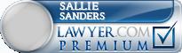 Sallie Jones Sanders  Lawyer Badge