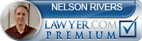 Nelson E Rivers  Lawyer Badge