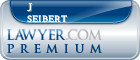 J W Seibert  Lawyer Badge