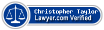 Christopher Rogers Taylor  Lawyer Badge