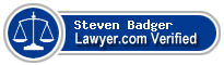 Steven Michael Badger  Lawyer Badge