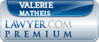 Valerie Louise Matheis  Lawyer Badge