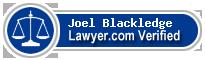 Joel Lavelle Blackledge  Lawyer Badge