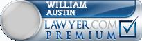 William H Austin  Lawyer Badge