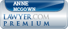 Anne Catherine Mcgown  Lawyer Badge