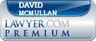 David Malcolm Mcmullan  Lawyer Badge