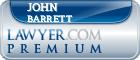 John W Barrett  Lawyer Badge