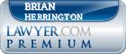 Brian Kelly Herrington  Lawyer Badge