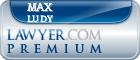 Max Carl Ludy  Lawyer Badge