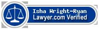 Isha Elect Wright-Ryan  Lawyer Badge