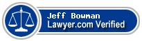 Jeff C Bowman  Lawyer Badge