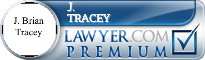 J. Brian Tracey  Lawyer Badge