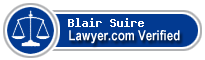 Blair Broussard Suire  Lawyer Badge
