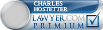 Charles Eugene Hostetter  Lawyer Badge