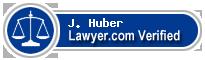 J. David Huber  Lawyer Badge