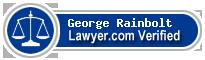 George Dean Rainbolt  Lawyer Badge