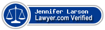 Jennifer Ann Larson  Lawyer Badge