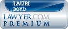 Lauri G Boyd  Lawyer Badge