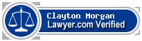 Clayton William Morgan  Lawyer Badge