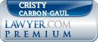 Cristy J Carbon-Gaul  Lawyer Badge