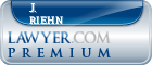 J. Michael Riehn  Lawyer Badge