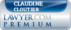 Claudine A. Cloutier  Lawyer Badge