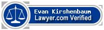 Evan M. Kirshenbaum  Lawyer Badge