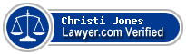 Christi Gammage Jones  Lawyer Badge