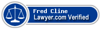 Fred L. Cline  Lawyer Badge