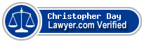 Christopher James Day  Lawyer Badge