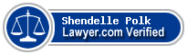 Shendelle Tregre Polk  Lawyer Badge
