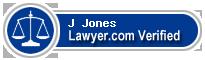 J Rabun Jones  Lawyer Badge