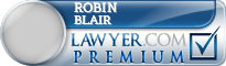 Robin B Blair  Lawyer Badge